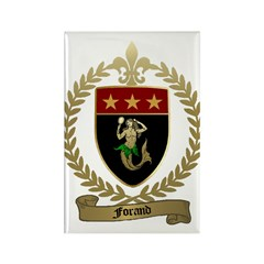 FORAND Family Crest Rectangle Magnet (10 pack)