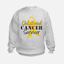 Childhood Cancer Survivor Sweatshirt