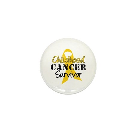 Childhood Cancer Survivor Mini Button (10 pack)