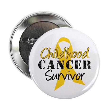 "Childhood Cancer Survivor 2.25"" Button (10 pack)"