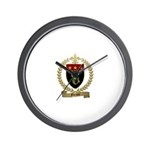 FORAND Family Crest Wall Clock
