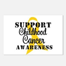 SupportChildCancer Postcards (Package of 8)