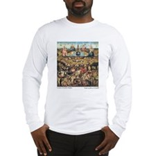 Garden of Earthly Delights Long Sleeve T-Shirt