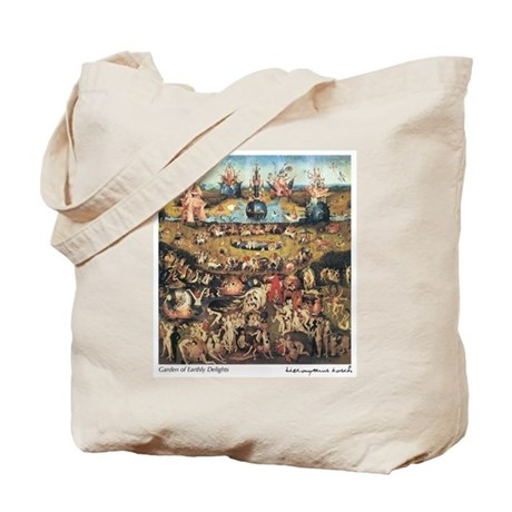 Garden of Earthly Delights Tote Bag