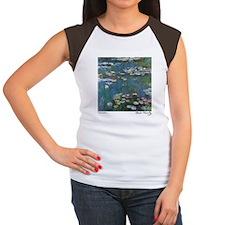 Waterlilies Women's Cap Sleeve T-Shirt