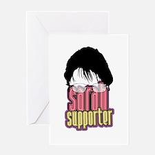 Sarah Supporter Greeting Card