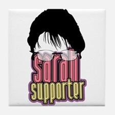 Sarah Supporter Tile Coaster