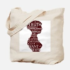 Jane Austen Quote Tote Bag