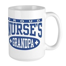Proud Nurse's Grandpa Coffee Mug