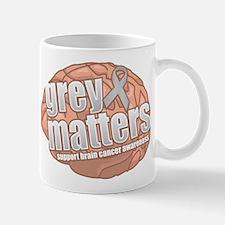 Brain Cancer: Grey Matters Mug