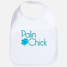 Palin Chick Blue Bib