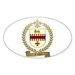 FILLION Family Crest Oval Sticker