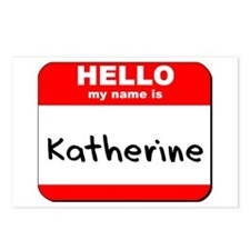Hello my name is Katherine Postcards (Package of 8