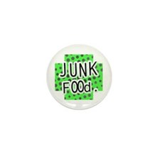Junk Food Mini Button