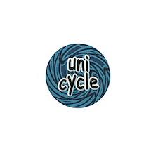 Unicycle Mini Button