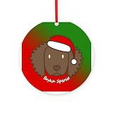Boykin spaniel Round Ornaments