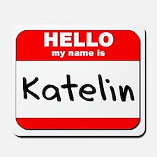 Hello my name is Katelin Mousepad