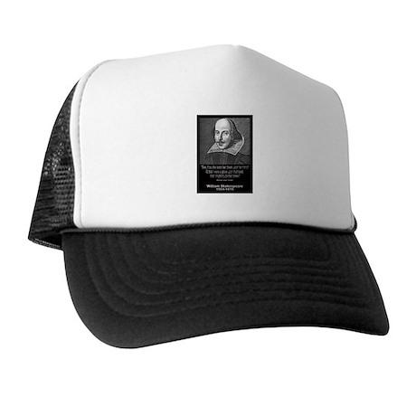 William Shakespeare Quote Trucker Hat