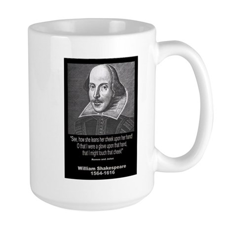 William Shakespeare Quote Large Mug