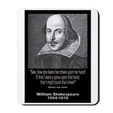 William Shakespeare Quote Mousepad