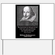 William Shakespeare Quote Yard Sign
