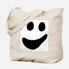 Ghot Face Halloween Candy Tote Bag
