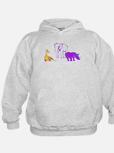 Unique Blue elephant Hoodie
