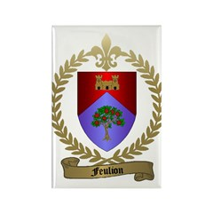 FEULION Family Crest Rectangle Magnet (10 pack)