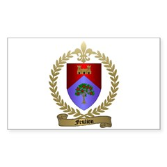 FEULION Family Crest Rectangle Decal
