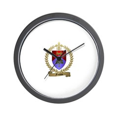 FEULION Family Crest Wall Clock