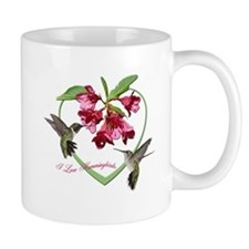 I love hummingbirds Mug
