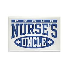 Proud Nurse's Uncle Rectangle Magnet
