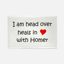 Cute Healing homes Rectangle Magnet (10 pack)