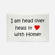 Cute Healing homes Rectangle Magnet