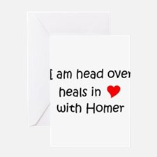 Cute Healing homes Greeting Card