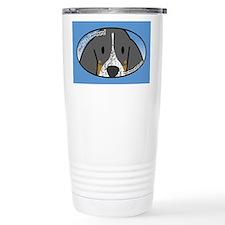 Anime Bluetick Coonhound Ceramic Travel Mug