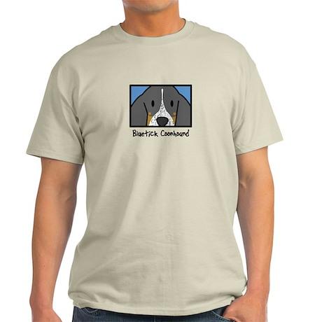 Anime Bluetick Coonhound Light T-Shirt