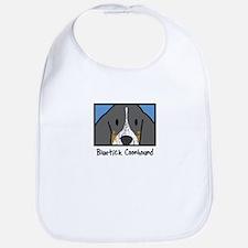 Anime Bluetick Coonhound Bib