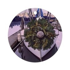 Harbor Holiday Ornament (Round)