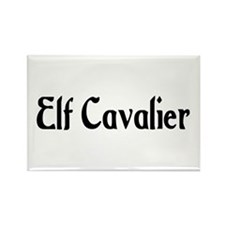 Elf Cavalier Rectangle Magnet