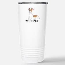 Cartoon Whippet Stainless Steel Travel Mug