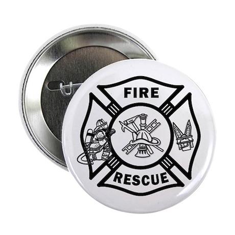 """Fire Rescue 2.25"""" Button"""