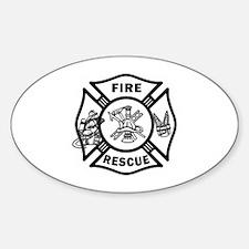 Fire Rescue Stickers