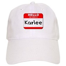 Hello my name is Karlee Cap