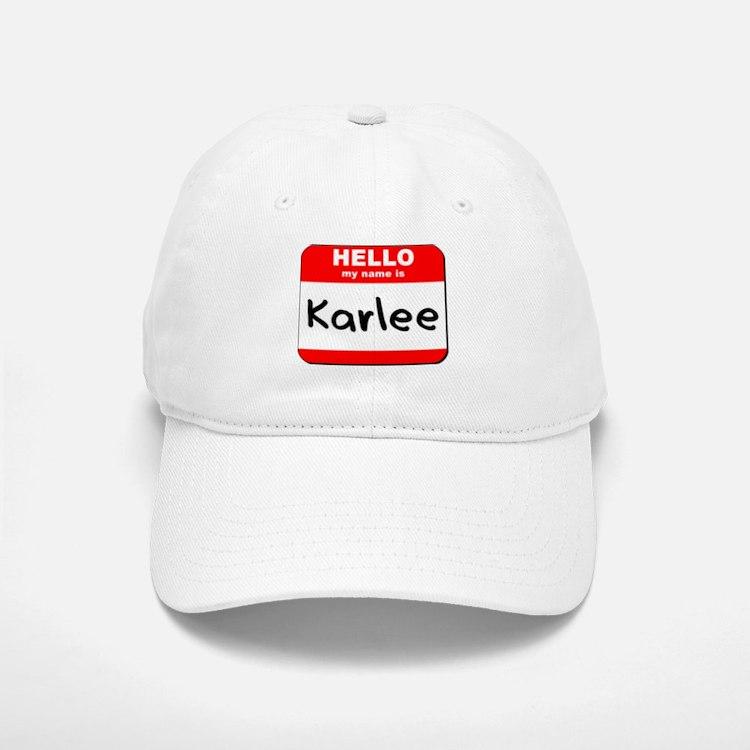 Hello my name is Karlee Cap