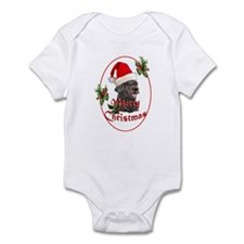 Labradoodle Christmas Infant Bodysuit