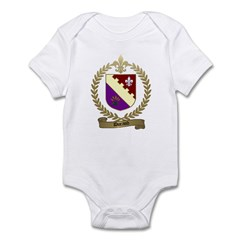 DURAND Family Crest Infant Creeper