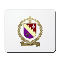 DURAND Family Crest Mousepad