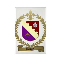 DURAND Family Crest Rectangle Magnet