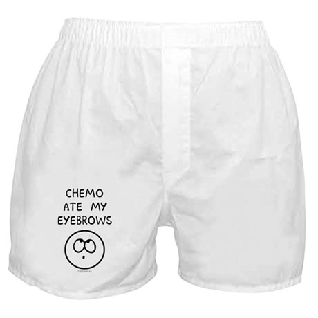 Chemo Ate My Eyebrows Boxer Shorts